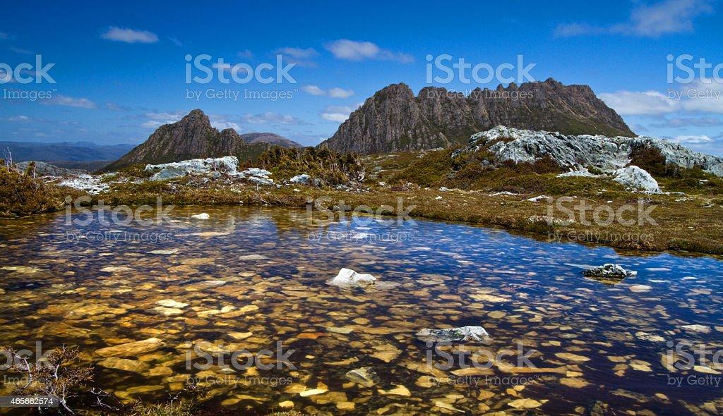 Cradle Mountain. stock photo