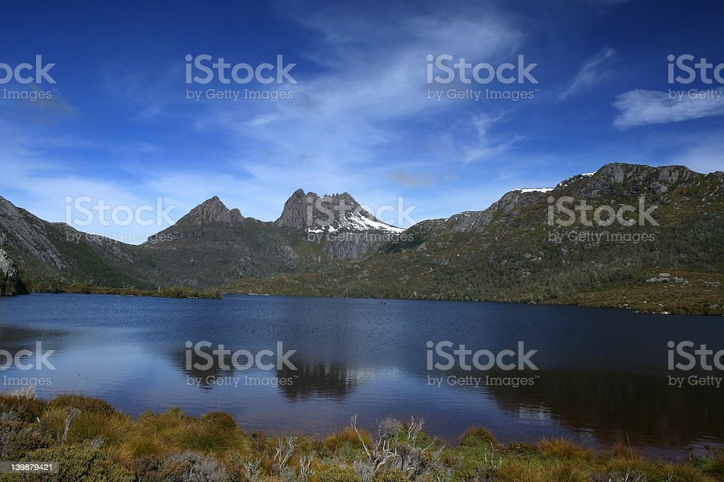 Cradle Mountain, Tasmania stock photo