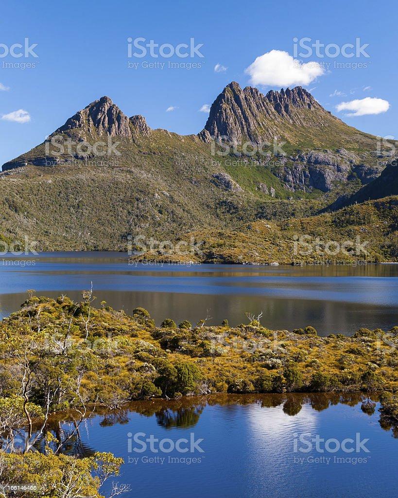 Mont Cradle Tasmanie photo libre de droits