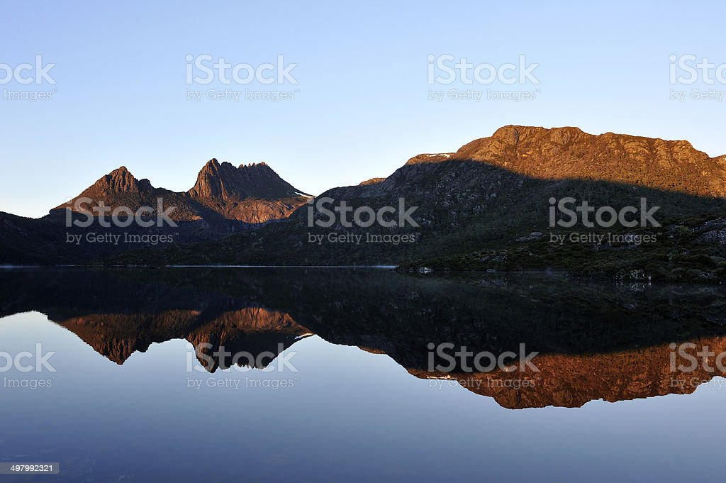 Cradle Mountain-Lake St Clair National Park stock photo