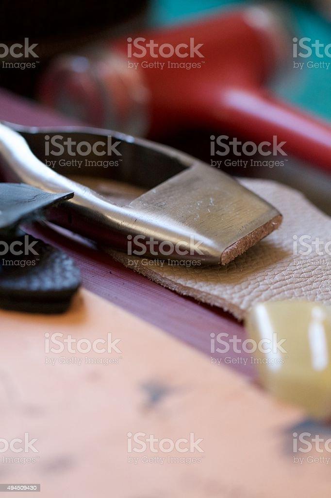 Craft Bench stock photo