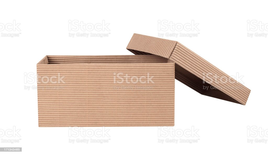 Craft Box+Clipping Path (Click for more) stock photo