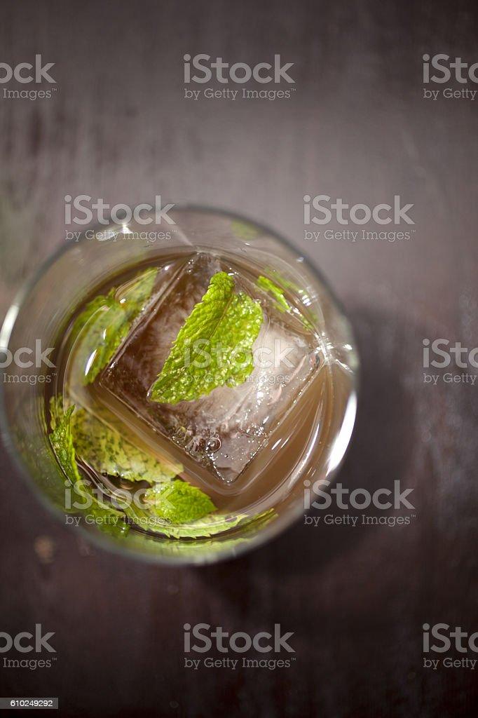 Craft cocktail stock photo