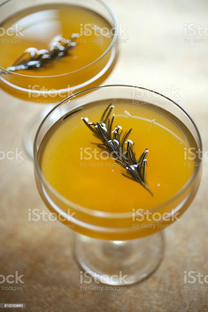Craft Cocktails stock photo