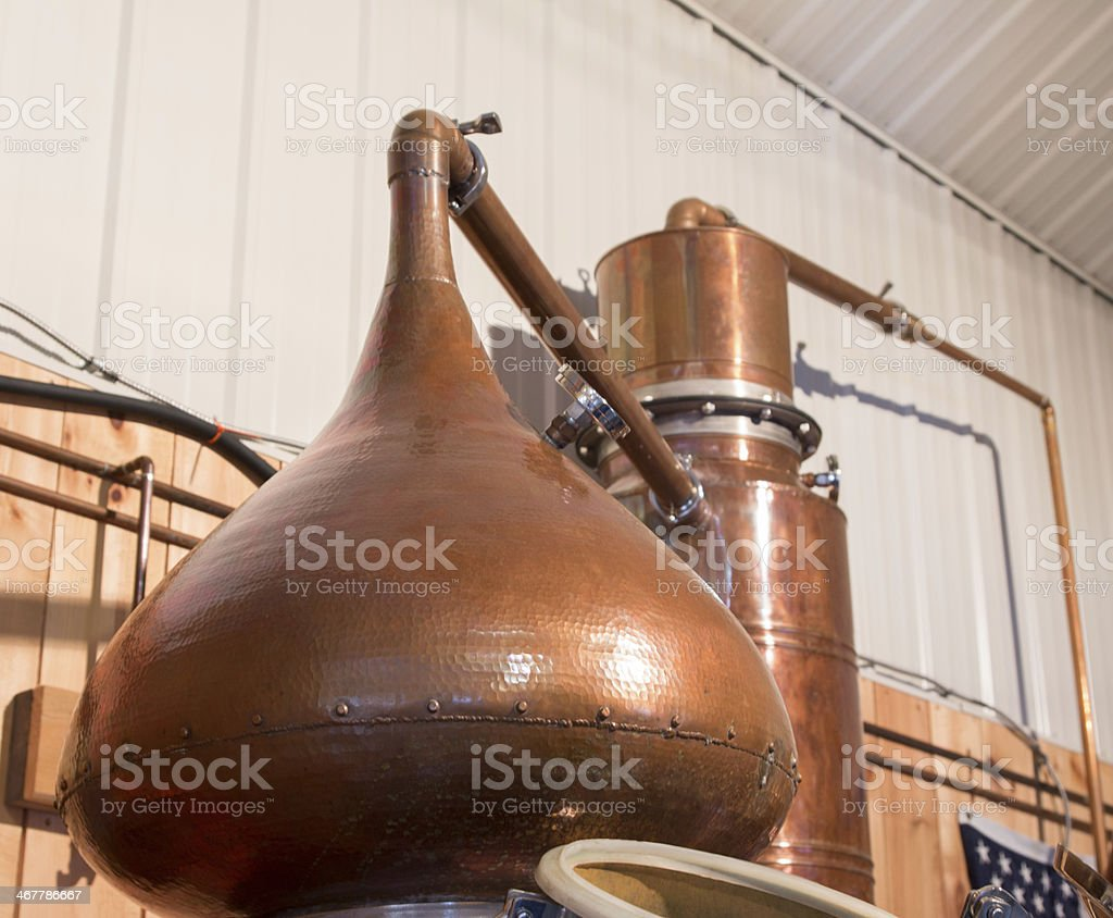 Craft Distillery 2 stock photo