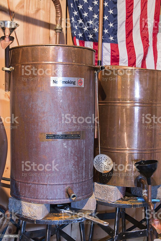 Craft Distillery 3 stock photo