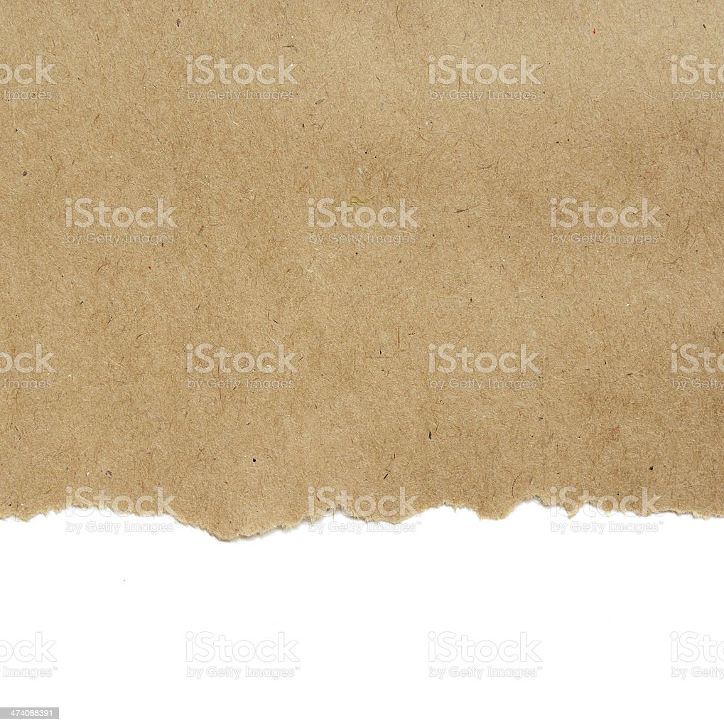Craft paper background stock photo