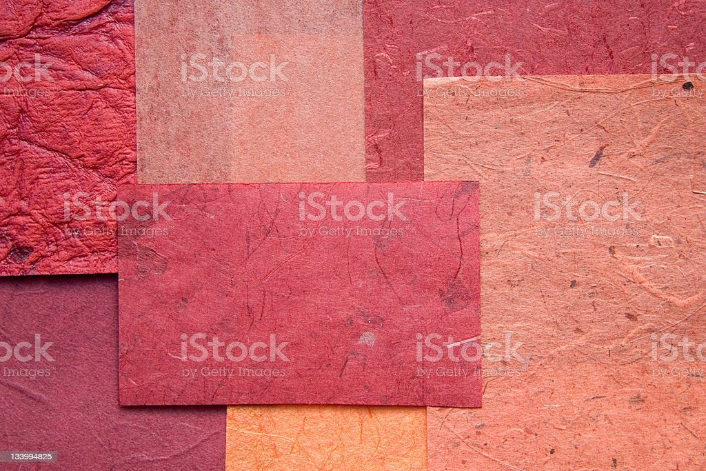 Craft papers stock photo