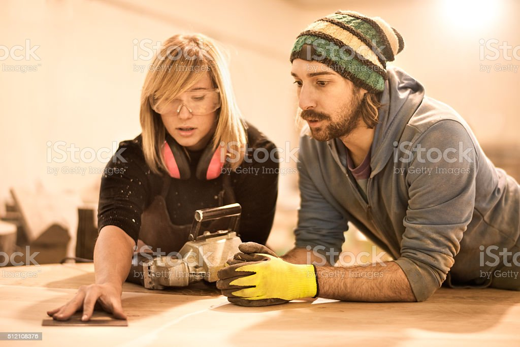 Crafting measurments stock photo
