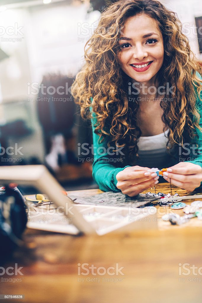 Craftperson stock photo