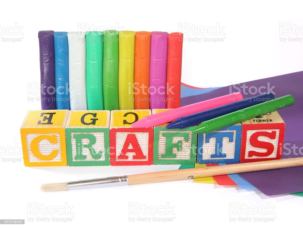 Crafts royalty-free stock photo