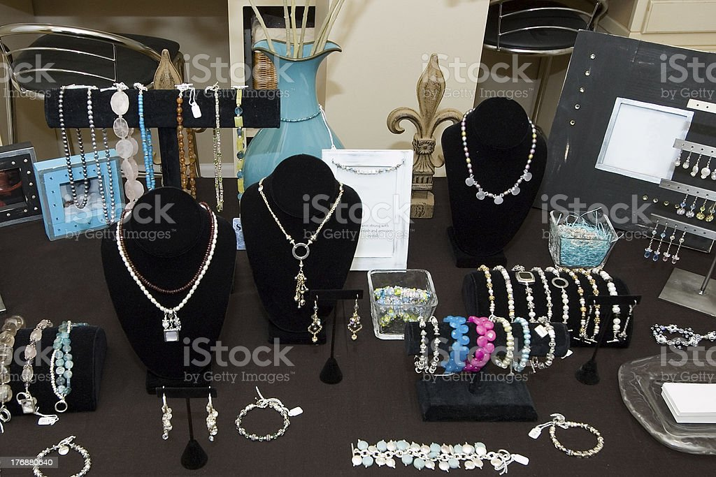 Crafts Table royalty-free stock photo