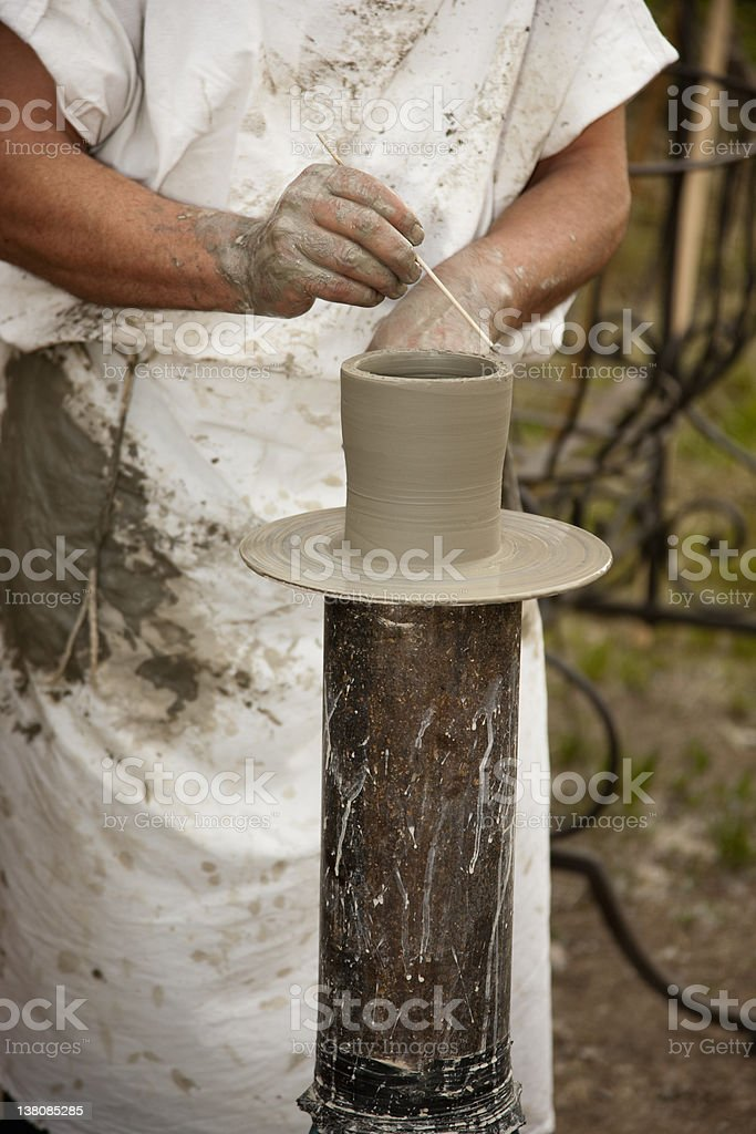 Craftsperson royalty-free stock photo