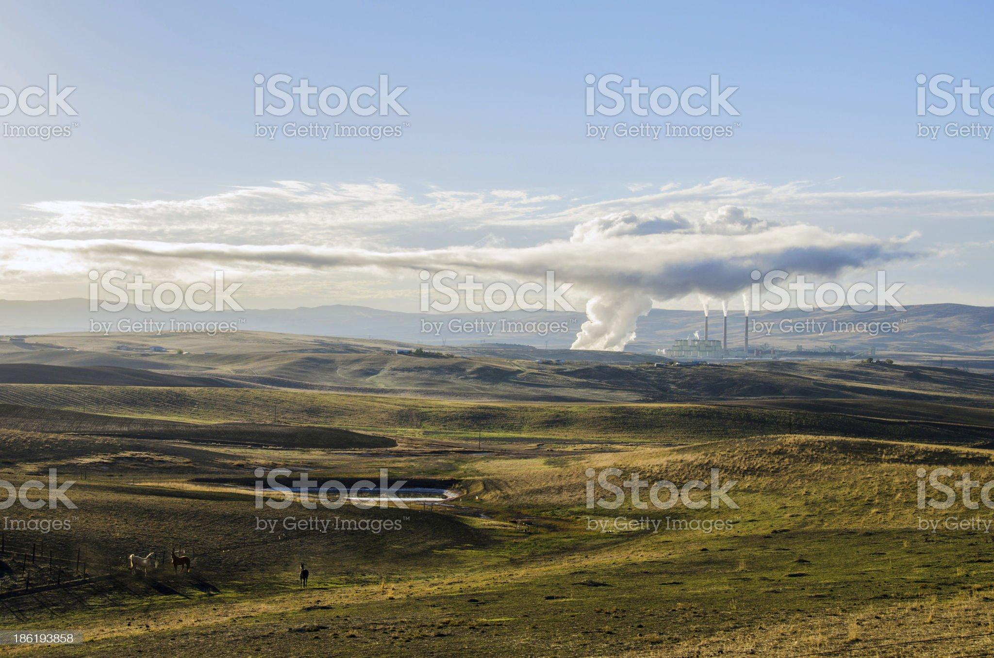 Craig Power Station royalty-free stock photo