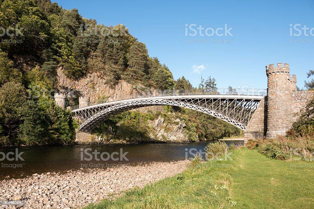 Craigellachie Bridge stock photo