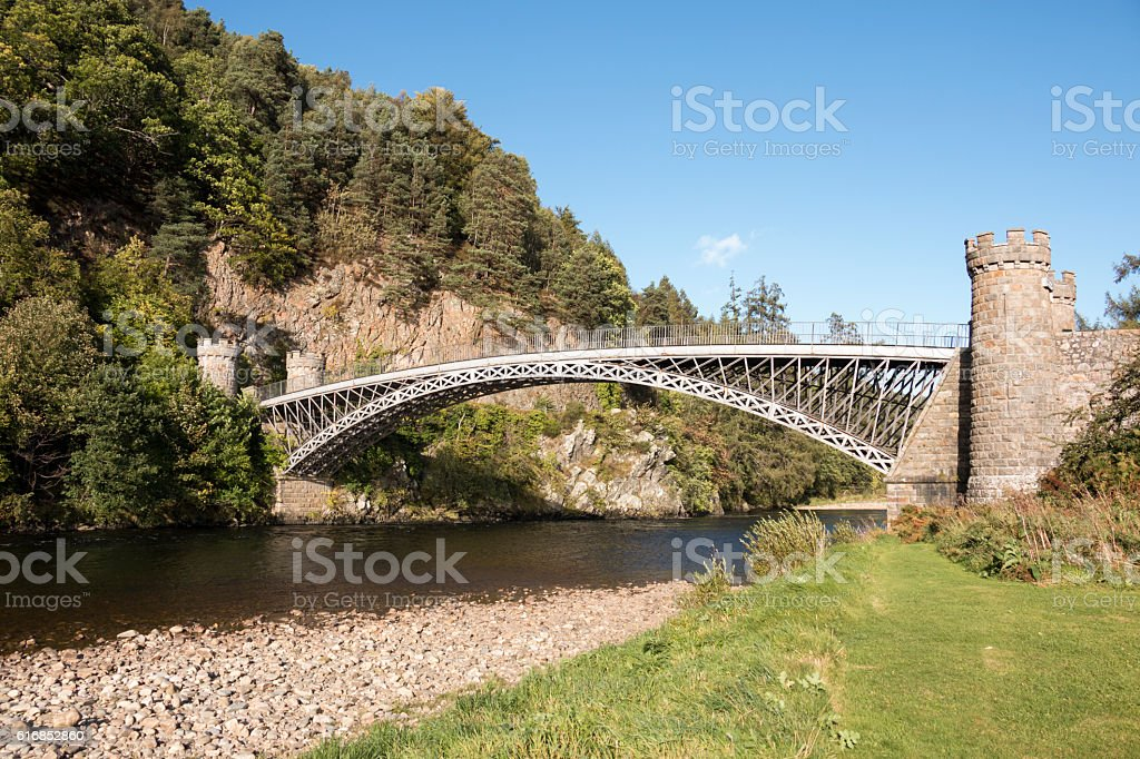 Craigellachie Bridge stock photo