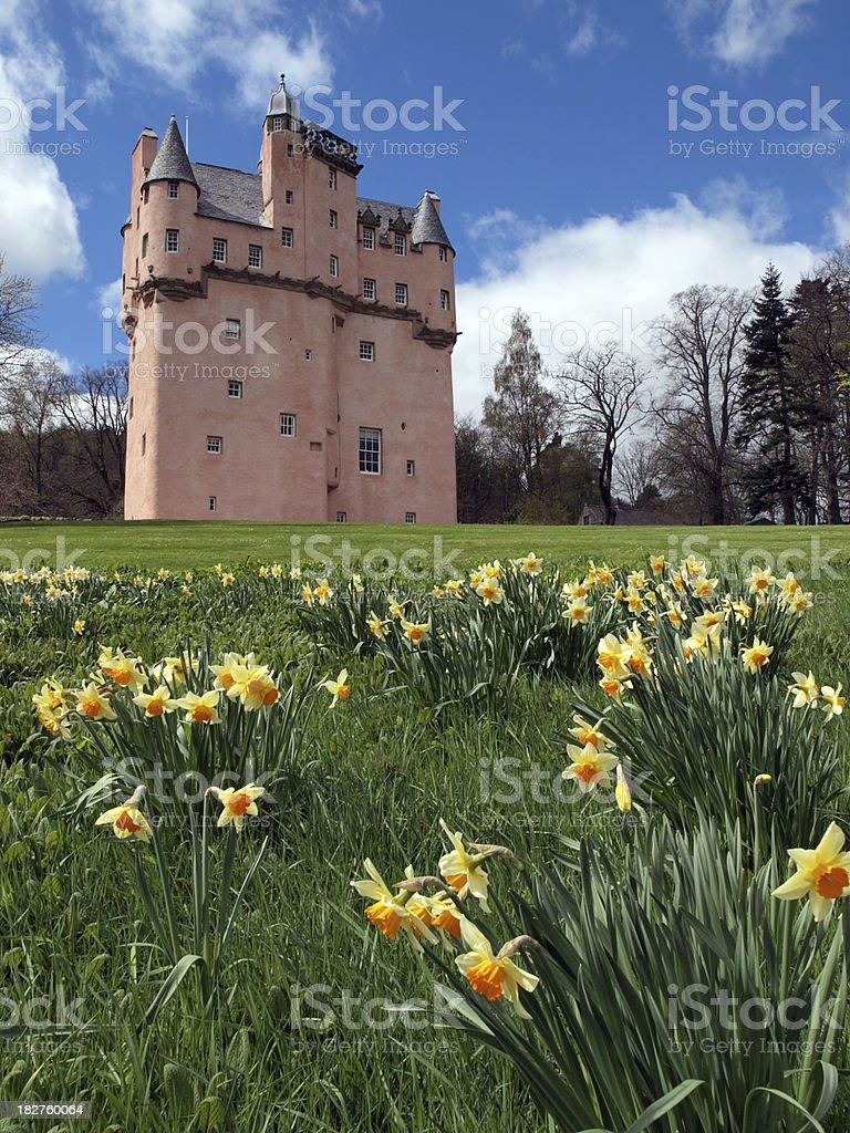 Craigievar Castle, Scotland stock photo