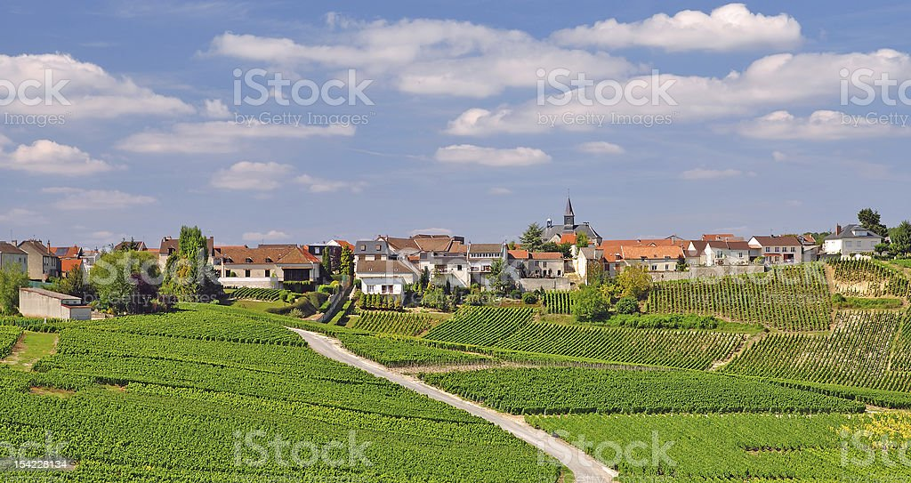 Cramant,Champagne,France royalty-free stock photo