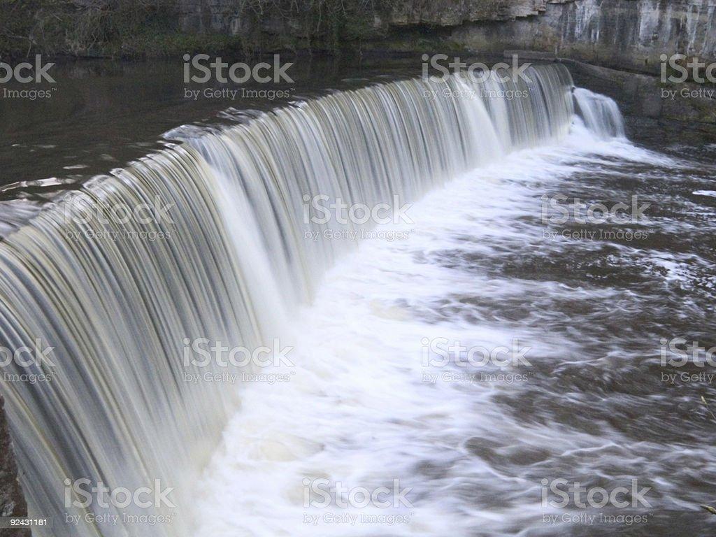 Cramond Weir photo libre de droits