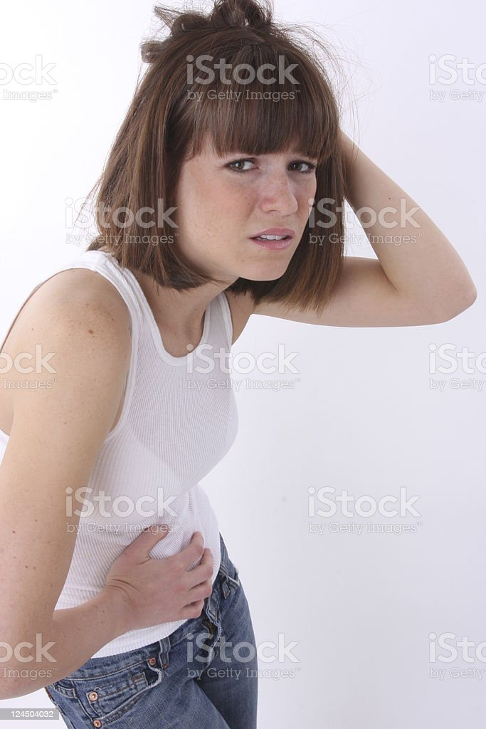 cramps! royalty-free stock photo