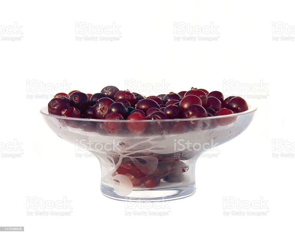 Cranberries_ royalty-free stock photo