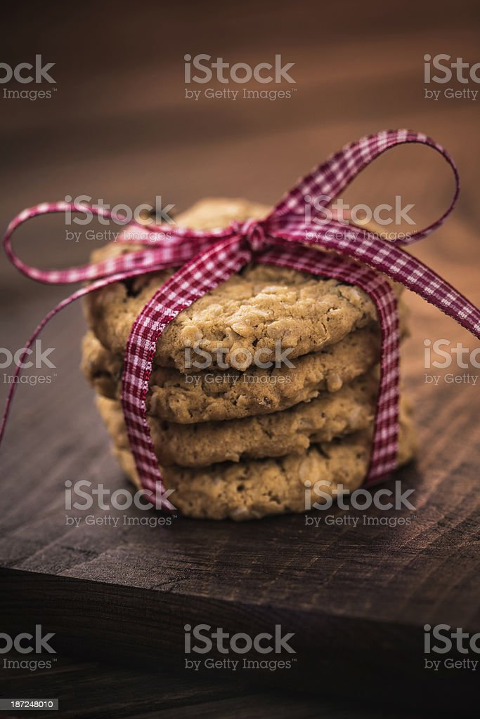 Cranberry Cookies royalty-free stock photo