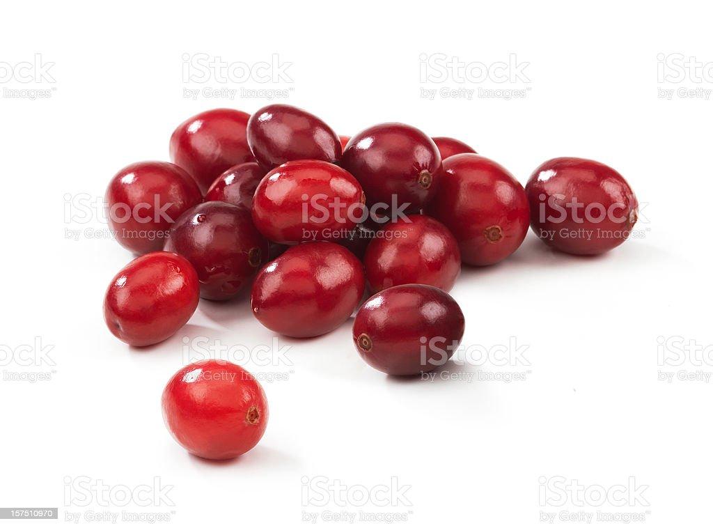 Cranberry heap stock photo