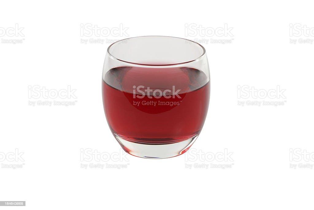 Cranberry Juice Isolated stock photo