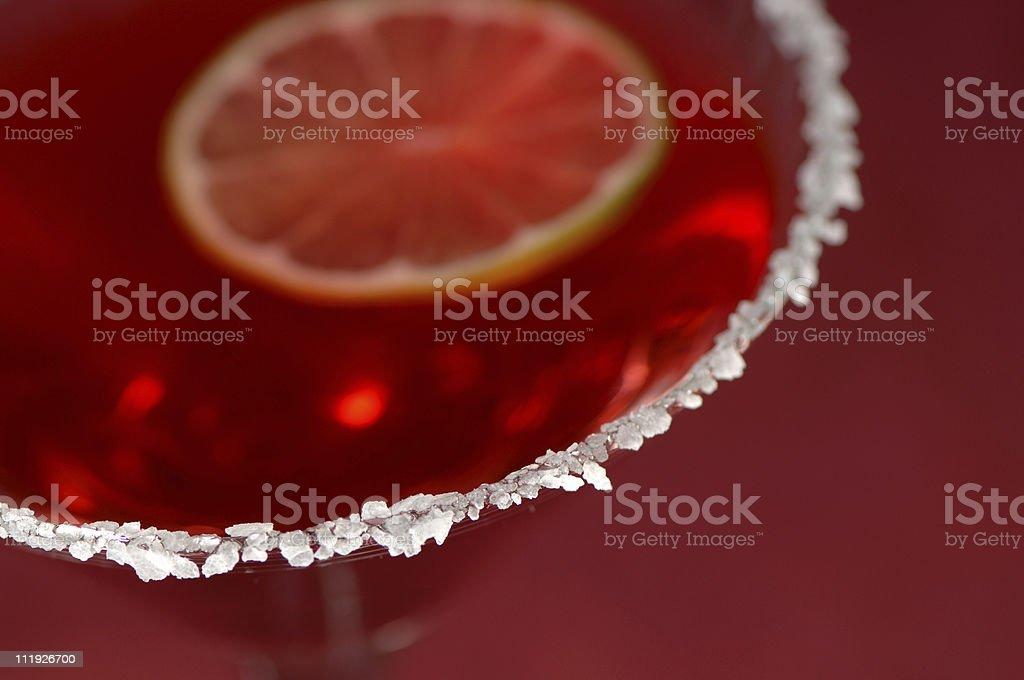 Cranberry Martini stock photo