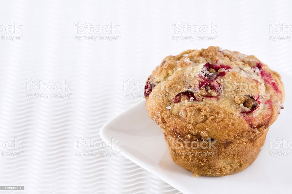 Cranberry Muffin royalty-free stock photo
