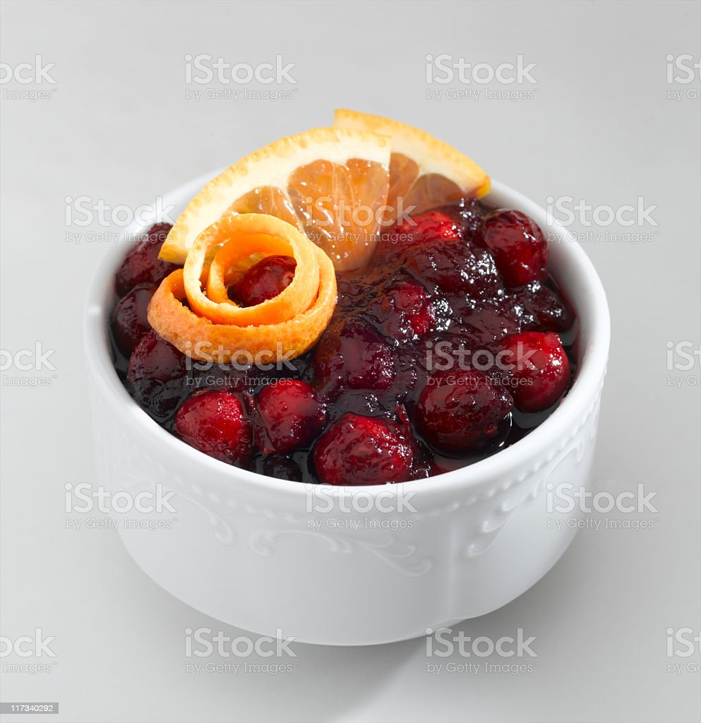 Cranberry Sauce royalty-free stock photo