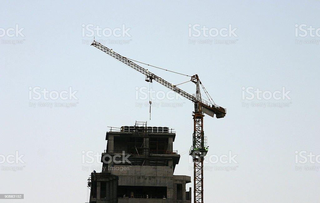 Crane 07 royalty-free stock photo