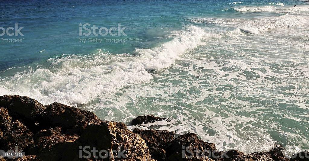 Crane Beach Barbados royalty-free stock photo