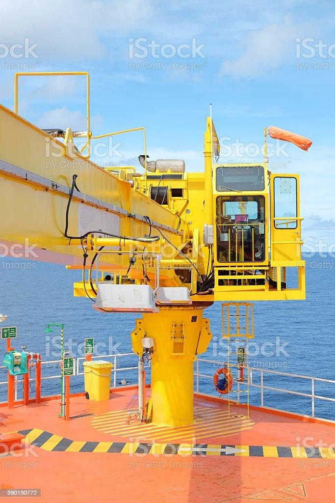 Crane, Crane winch,hook stock photo