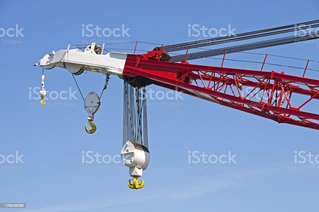 Crane detail stock photo