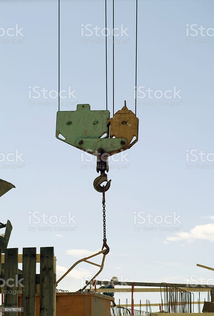 crane detail royalty-free stock photo