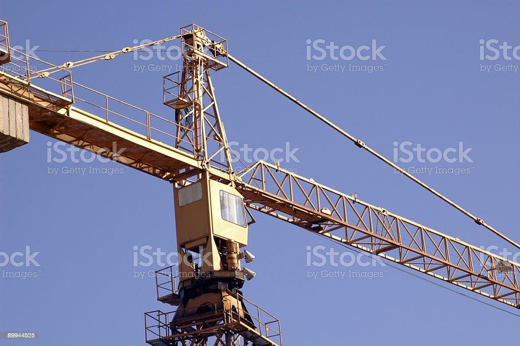 crane  - horisontal royalty-free stock photo