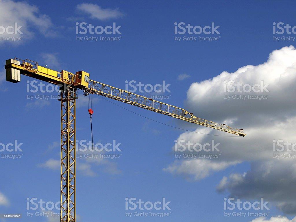 Crane II stock photo