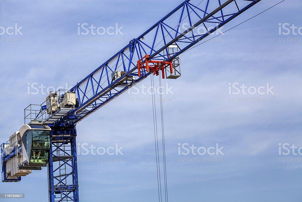 Crane machinery royalty-free stock photo