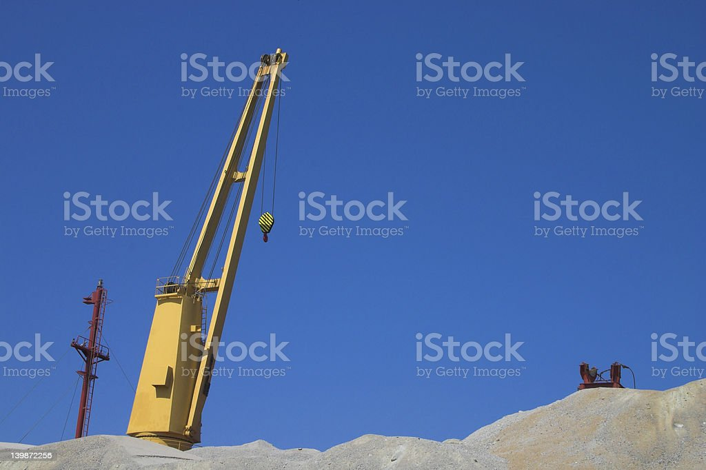 crane royalty-free stock photo