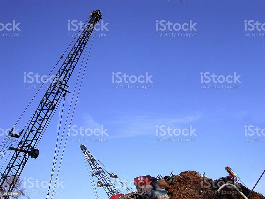 Cranes royalty-free stock photo