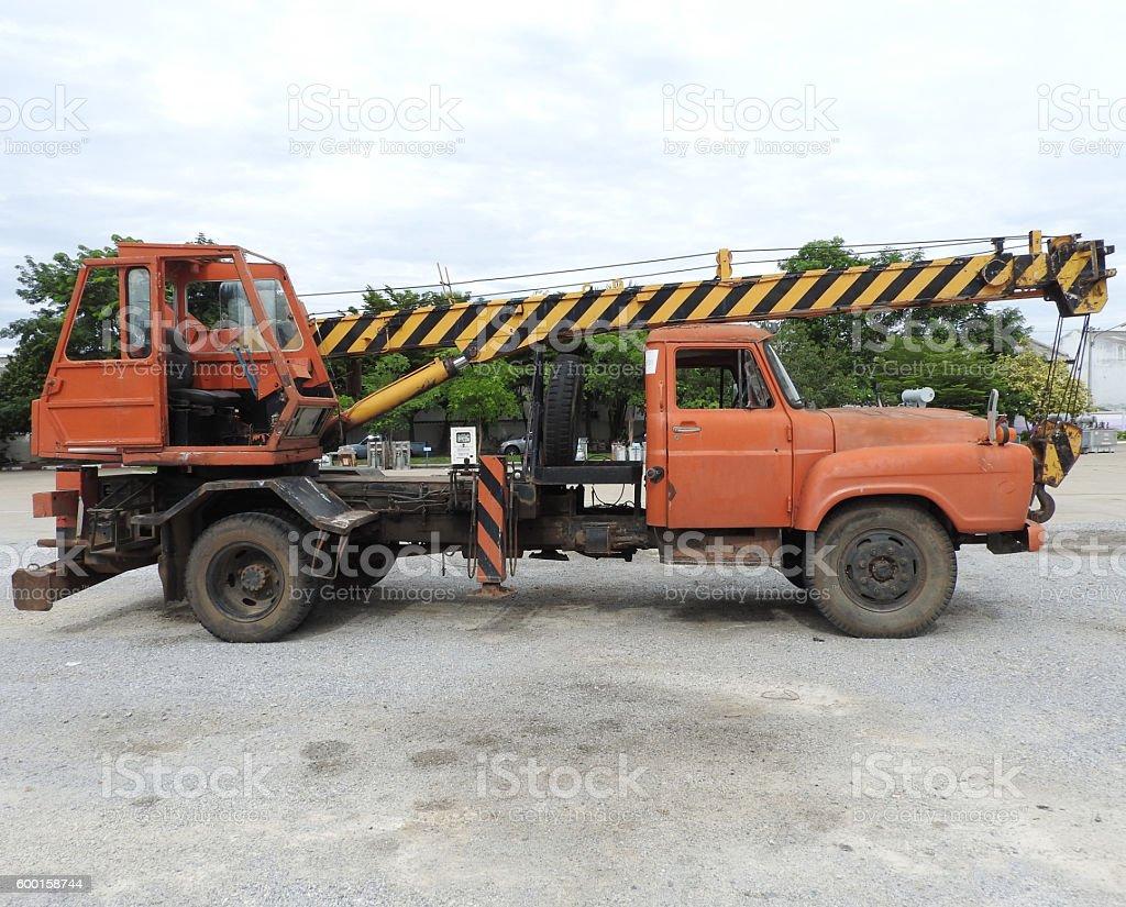 CraneTruck stock photo