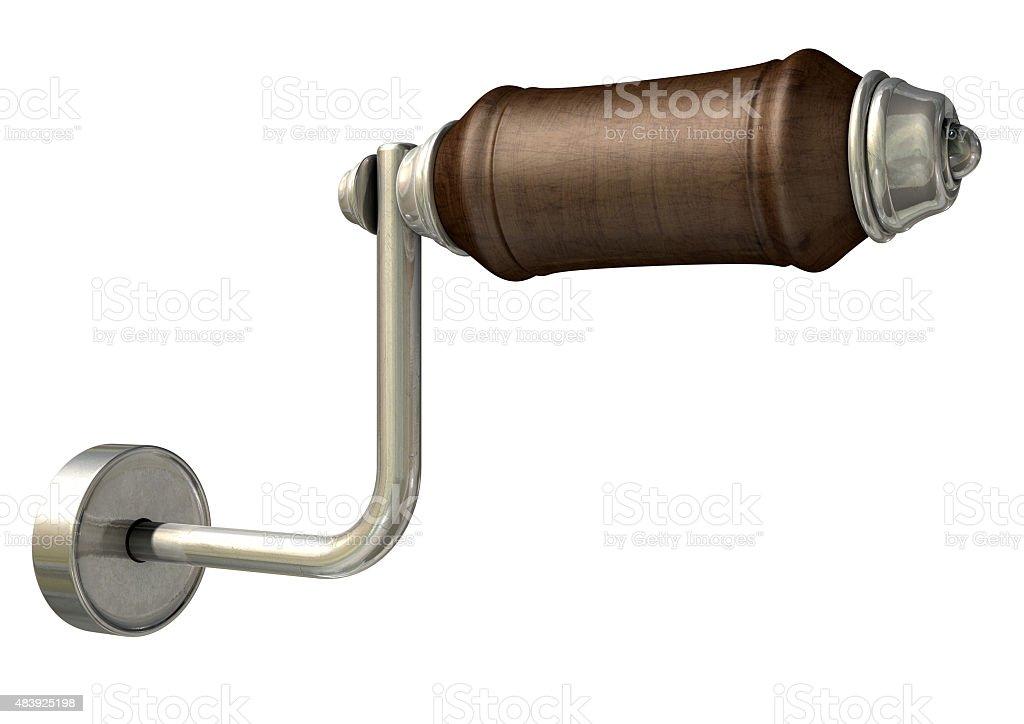 Crank Handle stock photo