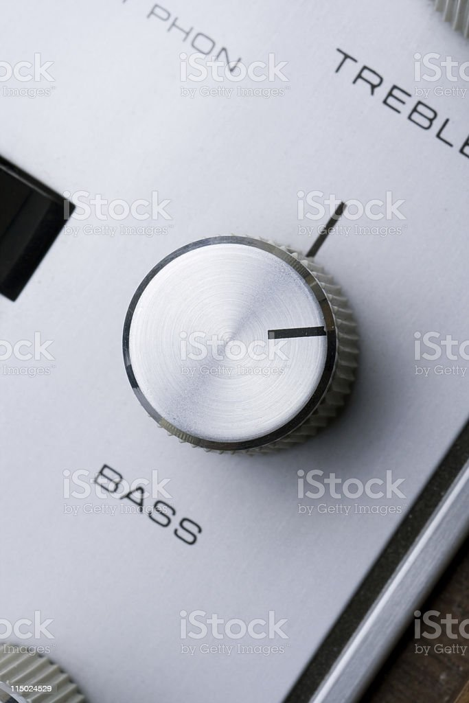 Crank the Bass stock photo