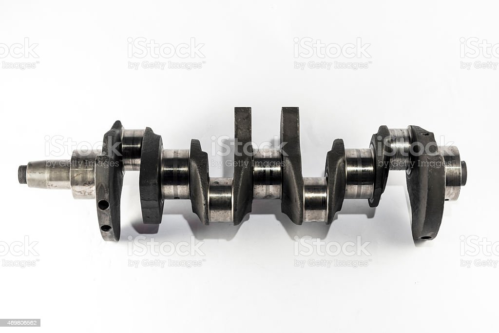 crankshaft stock photo