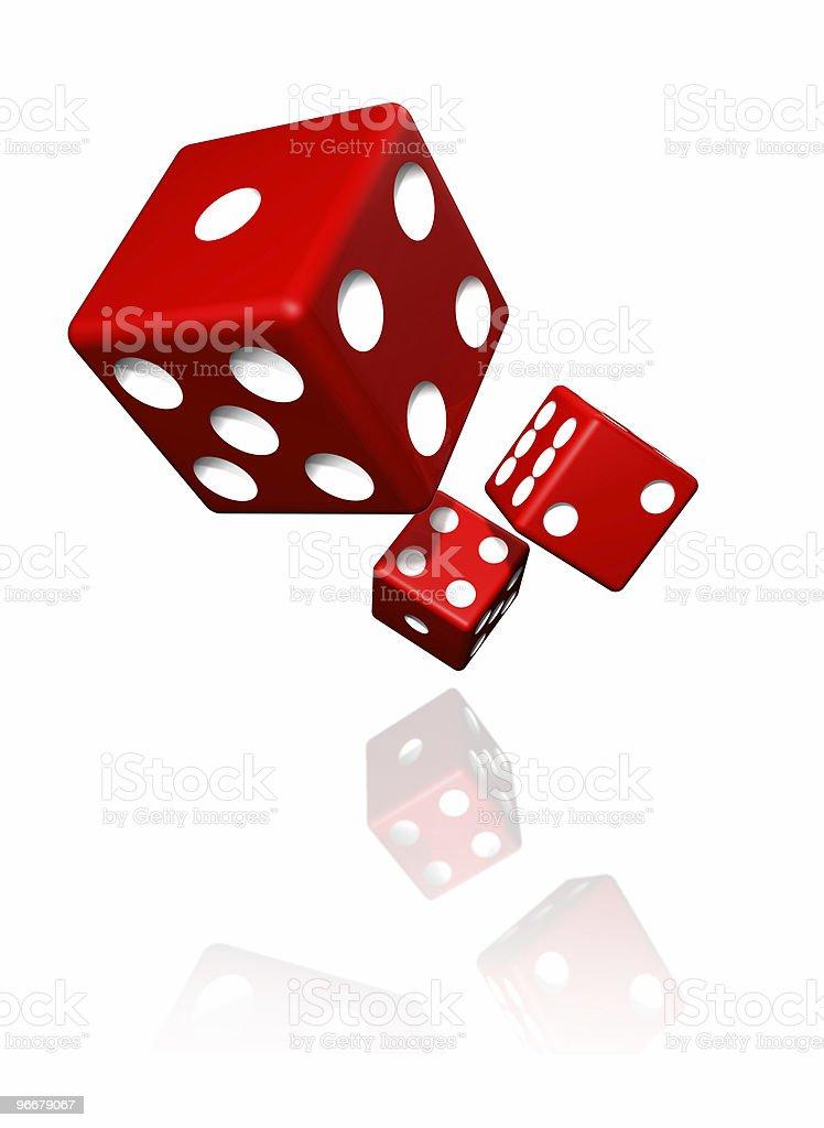 crap game dices stock photo
