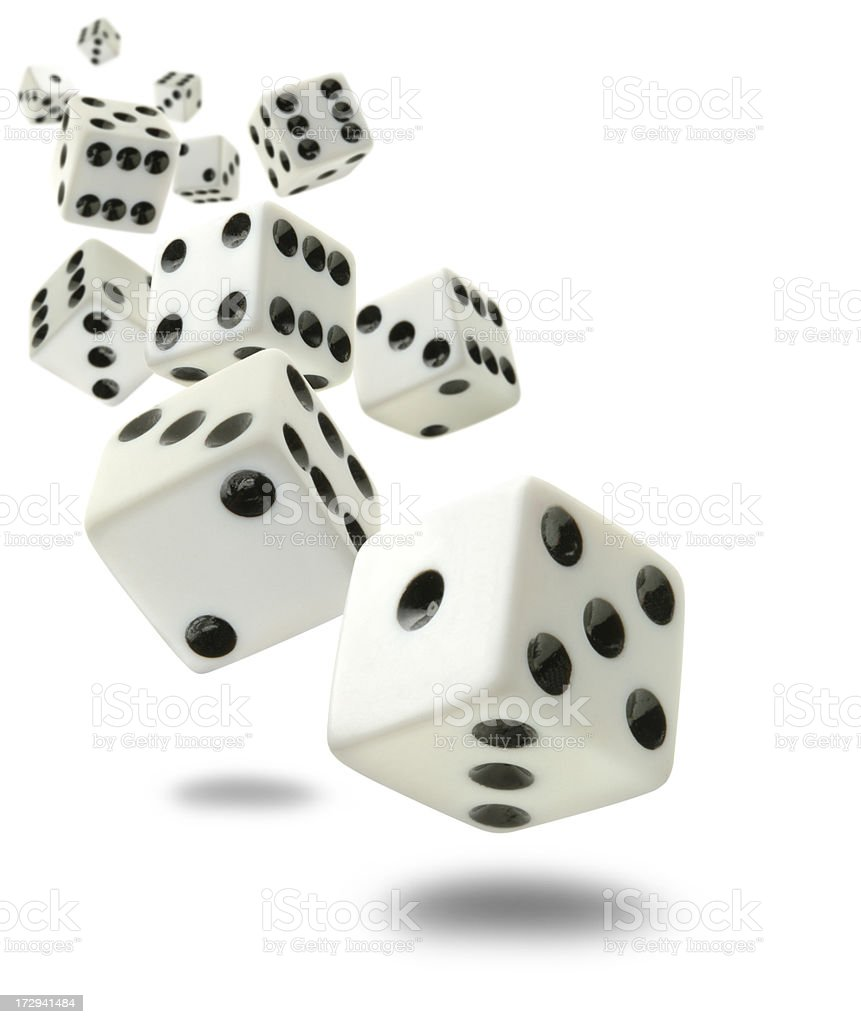 Craps-O-Rama royalty-free stock photo