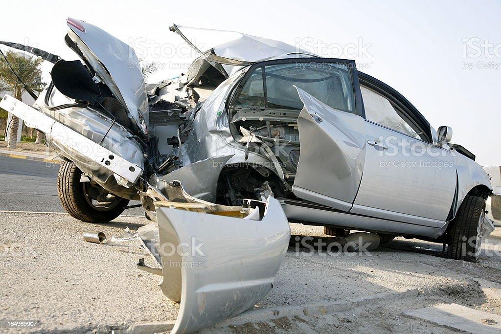 Crash Carnage stock photo