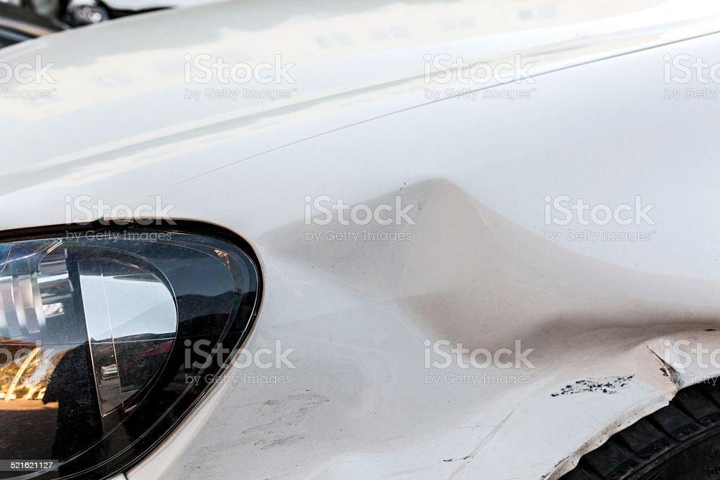 Crash stock photo