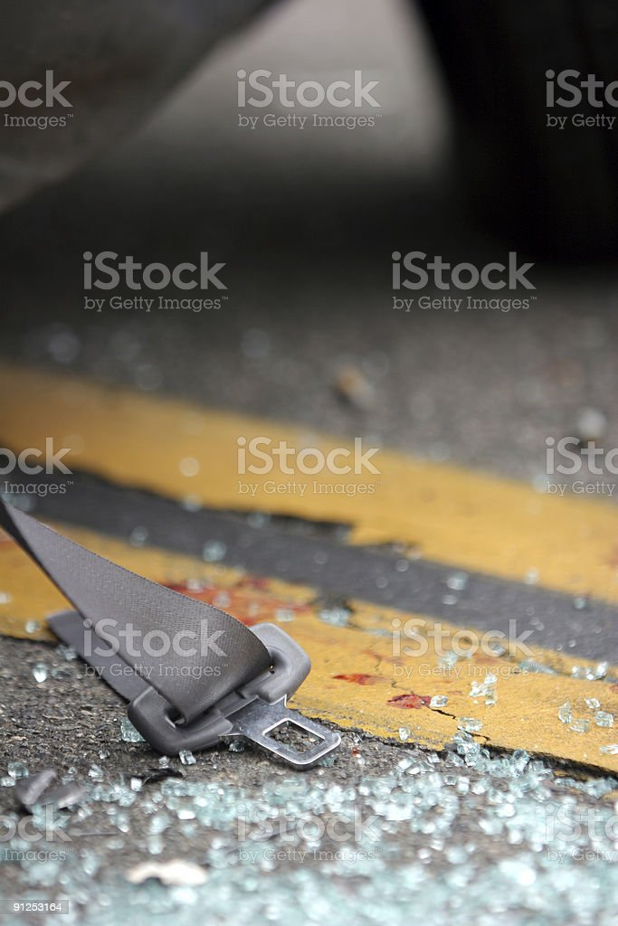 DUI Crash Series royalty-free stock photo